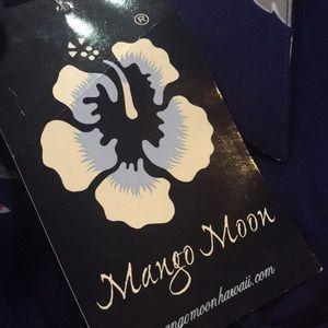 Mango Moon Shirts - Mango Moon Hawaiian Floral Shirt Sz S
